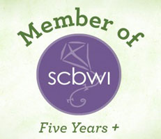 Regarding Heaven's Wait page SCBWI Logo